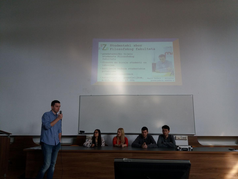 Predstavljanje Studentskog zbora